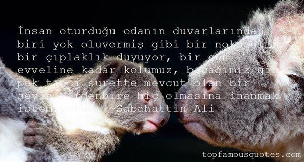Sabahattin Ali Quotes