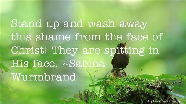 Sabina Wurmbrand Quotes