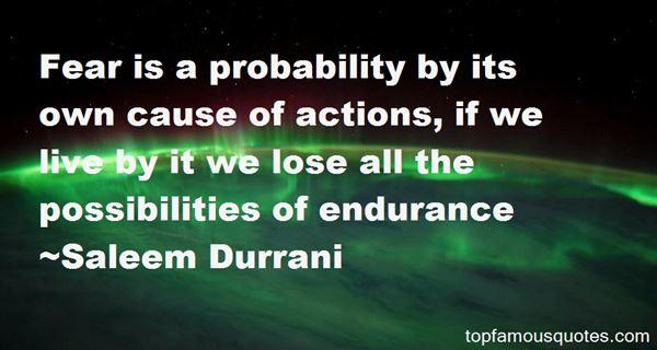 Saleem Durrani Quotes