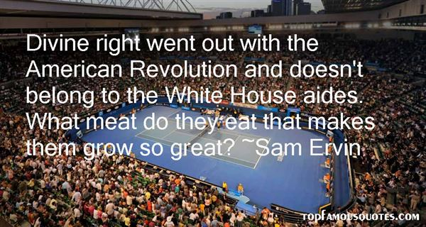Sam Ervin Quotes