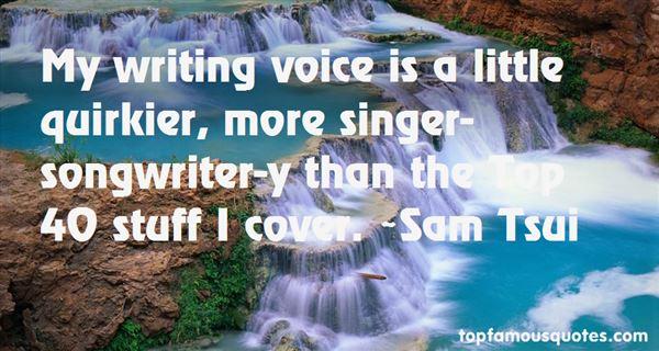 Sam Tsui Quotes