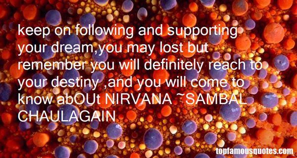 SAMBAL CHAULAGAIN Quotes