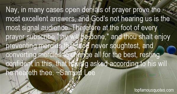Samuel Lee Quotes