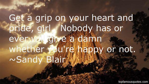 Sandy Blair Quotes