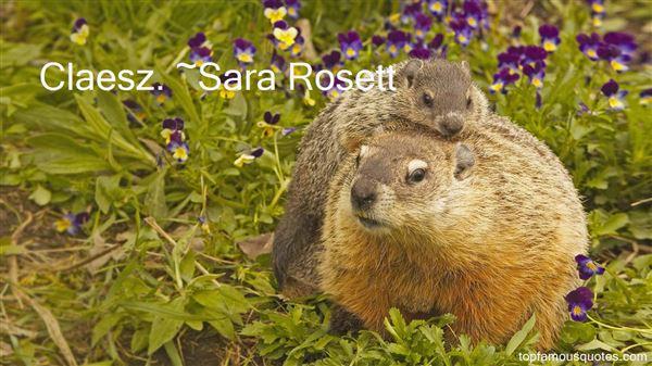 Sara Rosett Quotes