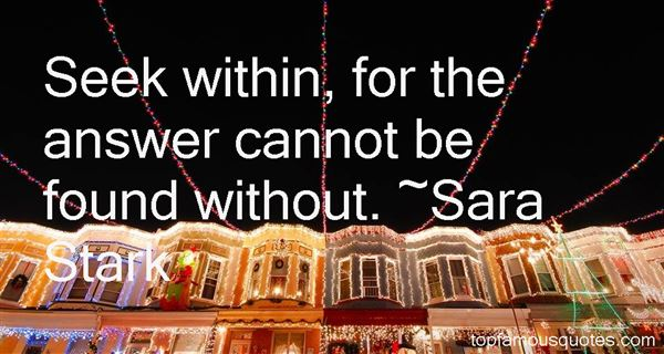 Sara Stark Quotes