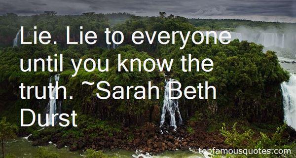 Sarah Beth Durst Quotes