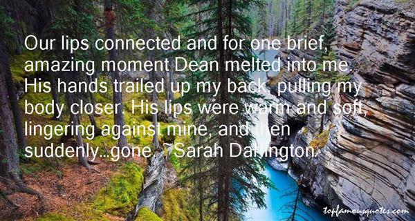 Sarah Darlington Quotes