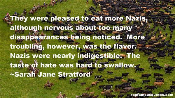 Sarah Jane Stratford Quotes