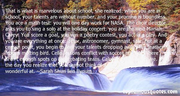 Sarah Shun Lien Bynum Quotes