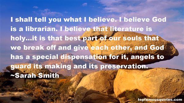 Sarah Smith Quotes