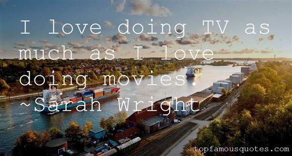 Sarah Wright Quotes