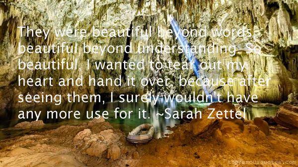 Sarah Zettel Quotes