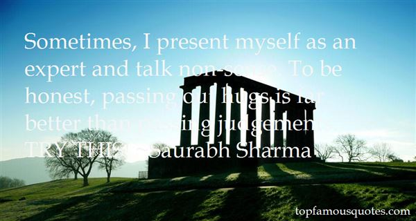Saurabh Sharma Quotes