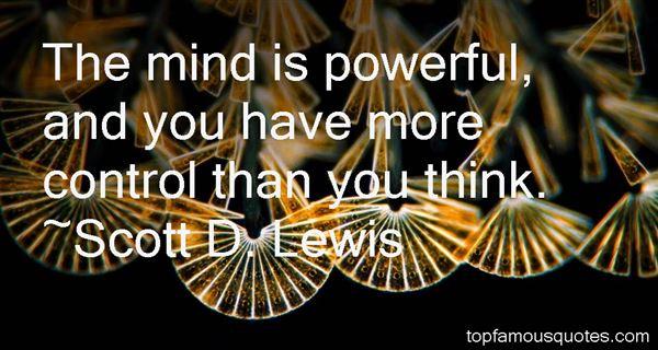 Scott D. Lewis Quotes
