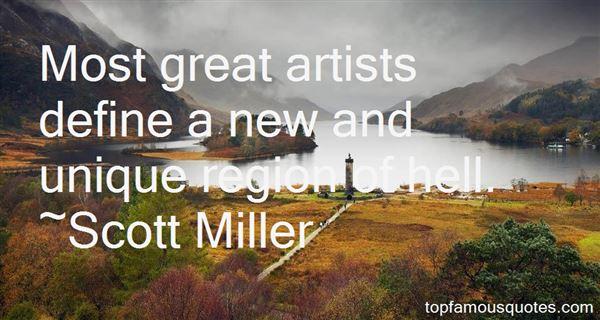 Scott Miller Quotes