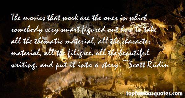 Scott Rudin Quotes