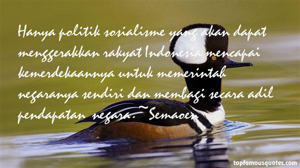Semaoen Quotes