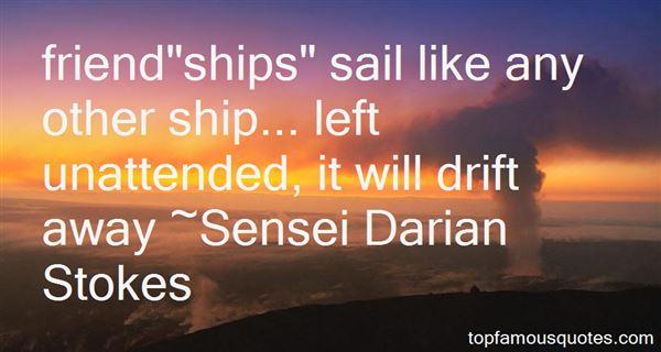 Sensei Darian Stokes Quotes