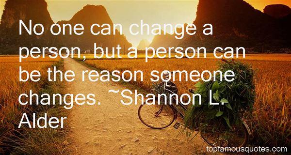 Shannon L. Alder Quotes