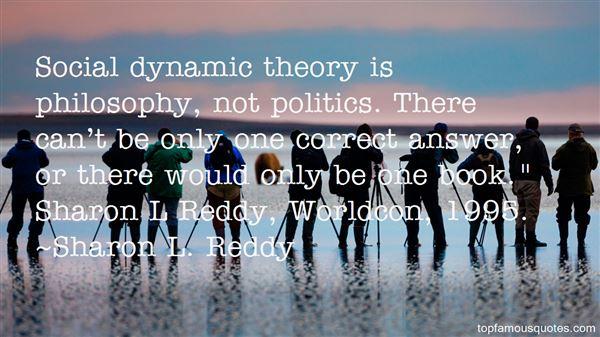 Sharon L. Reddy Quotes