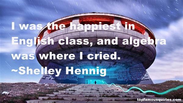 Shelley Hennig Quotes