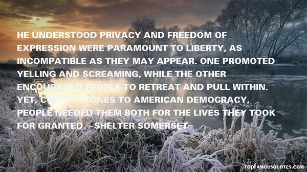 Shelter Somerset Quotes
