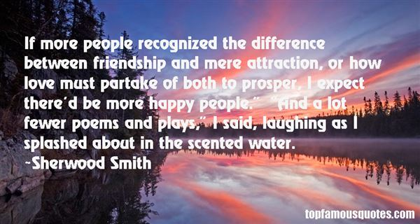 Sherwood Smith Quotes