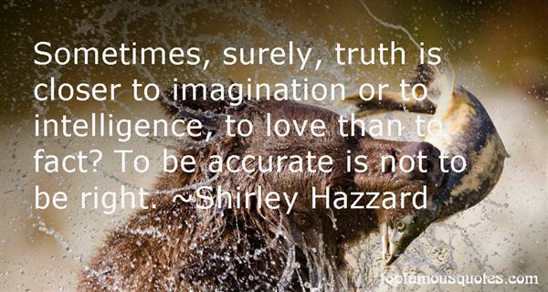 Shirley Hazzard Quotes