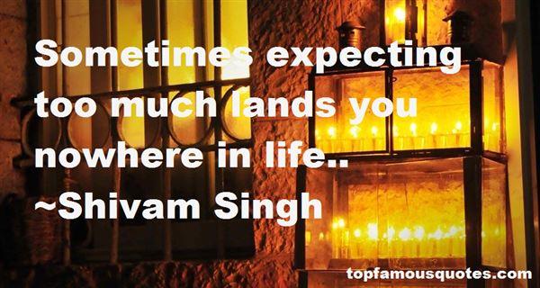 Shivam Singh Quotes