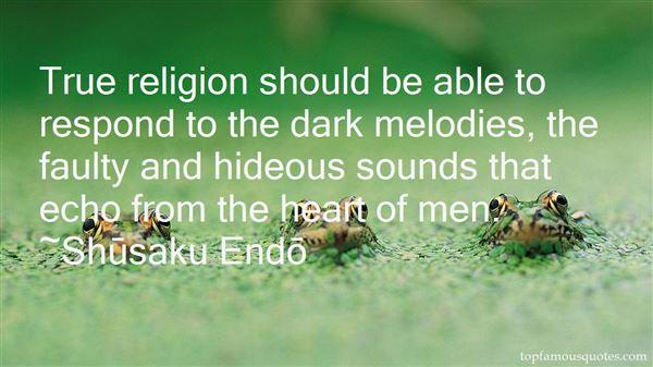 Shūsaku Endō Quotes