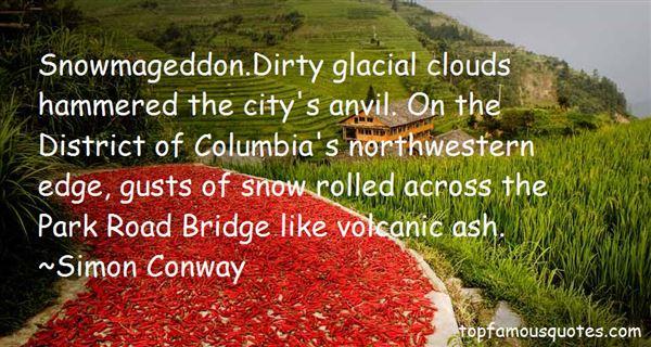 Simon Conway Quotes