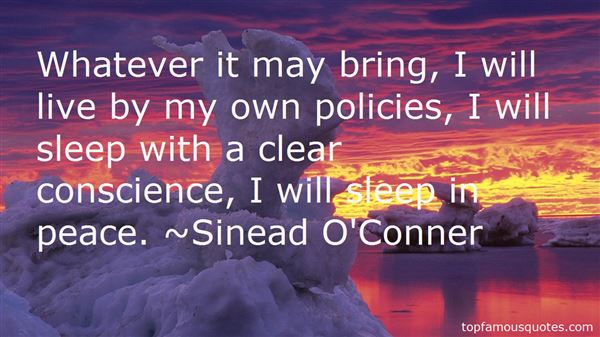 Sinead O'Conner Quotes