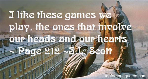 S.L. Scott Quotes