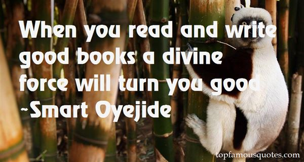Smart Oyejide Quotes