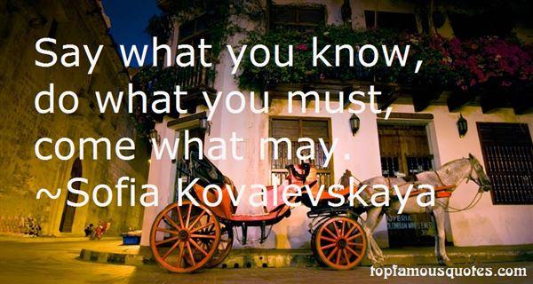 Sofia Kovalevskaya Quotes
