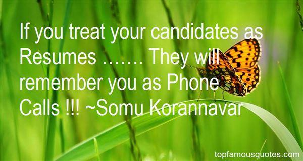 Somu Korannavar Quotes