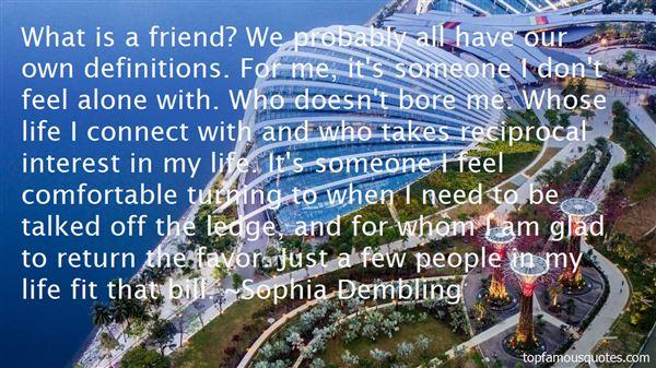 Sophia Dembling Quotes