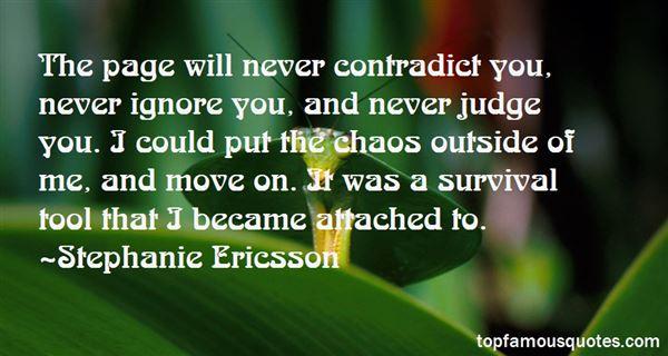Stephanie Ericsson Quotes