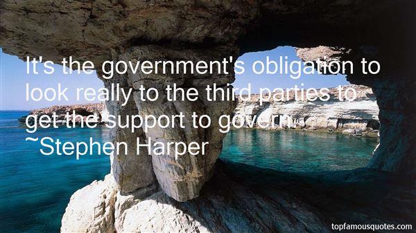Stephen Harper Quotes
