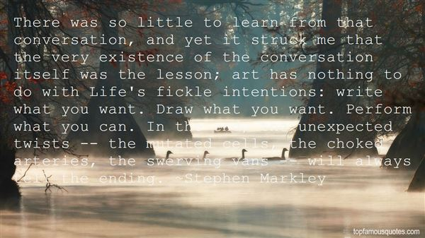 Stephen Markley Quotes