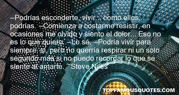 Steve Niles Quotes