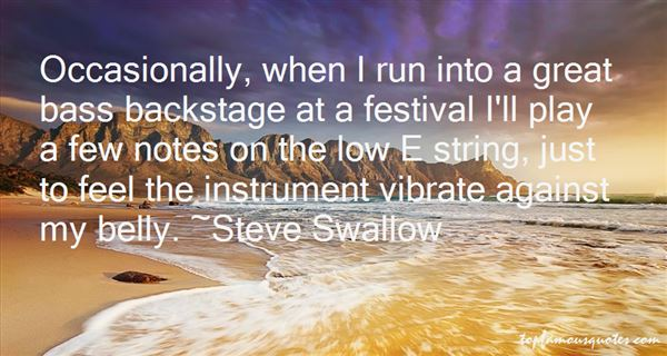Steve Swallow Quotes