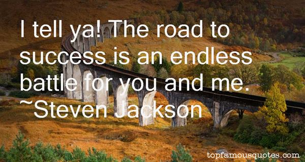 Steven Jackson Quotes