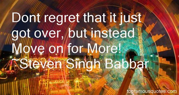 Steven Singh Babbar Quotes