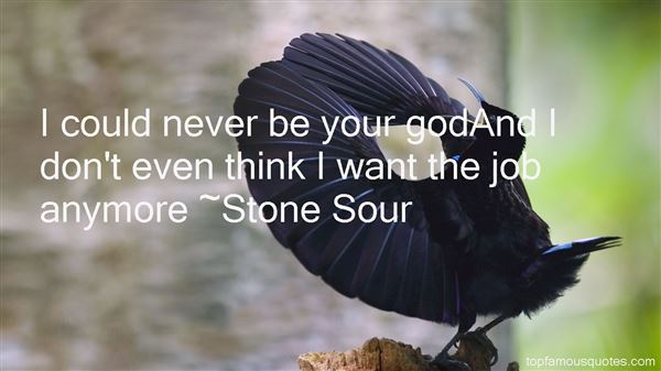 Stone Sour Quotes