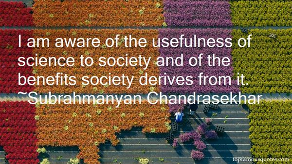 Subrahmanyan Chandrasekhar Quotes
