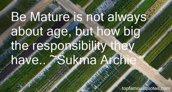 Sukma Archie Quotes