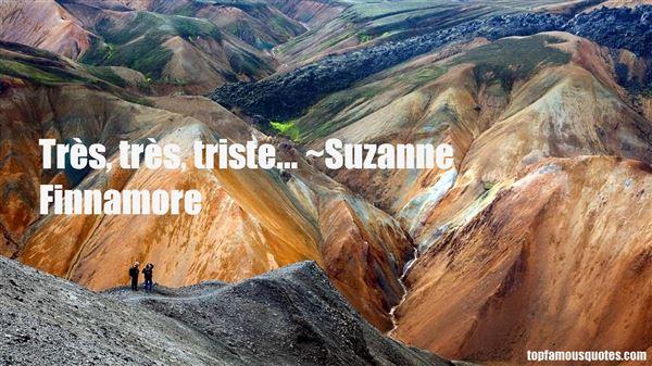 Suzanne Finnamore Quotes