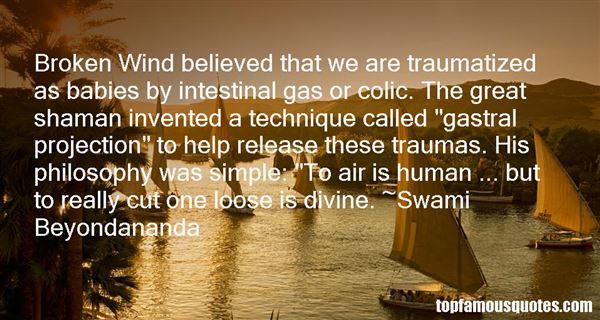 Swami Beyondananda Quotes